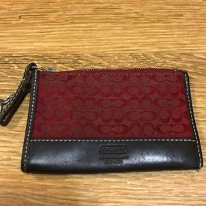 🎀5/$25 sale! COACH card&key holder